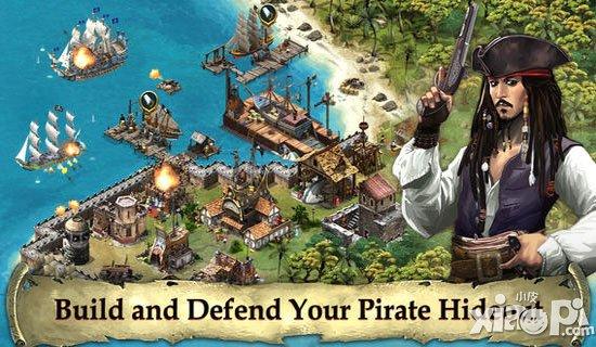 《加勒比海盗:岛屿战争》迪斯尼官方版今日上