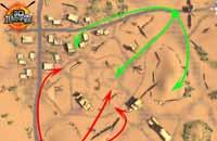 3D坦克争霸5大地图伏击路线选择