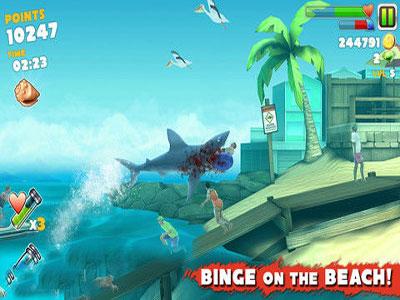 饥饿的鲨鱼3