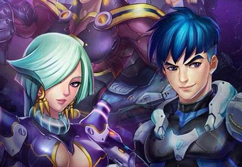 雷霆战机驾驶员莉亚和罗伊