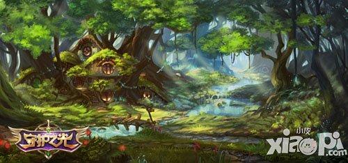 唯美仙境 《守护之光》游戏场景公布图片