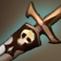 发光的骷髅长剑