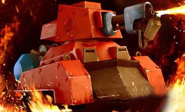 海岛奇兵红坦走单骑 医师坦克左右辅助