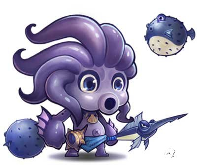 [刀塔传奇小鱼人技能介绍]刀塔传奇小鱼人技能介绍 小鱼人技能怎么样