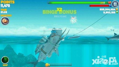饥饿的鲨鱼进化评测