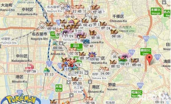 精灵宝可梦go国服下载_精灵宝可梦go日本名古屋精灵坐标分布 日本梦幻坐标分享