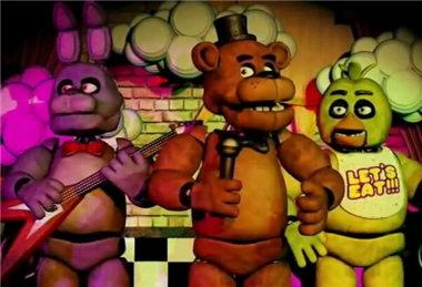 玩具熊的五夜后宫1兔子我开灯看见了准备关门可关不了