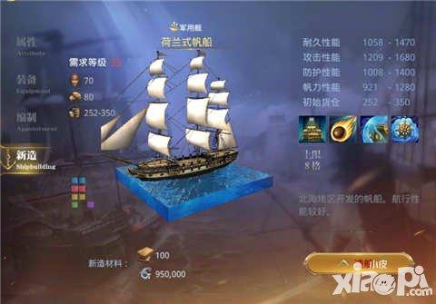 大航海之路荷兰式帆船