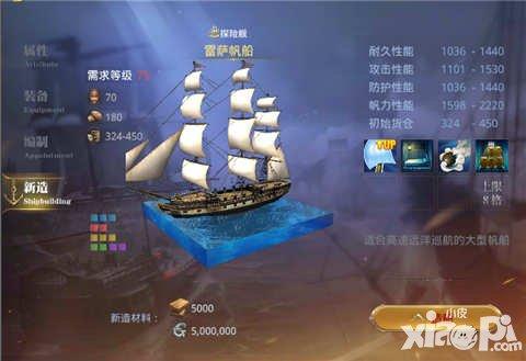 大航海之路雷萨帆船
