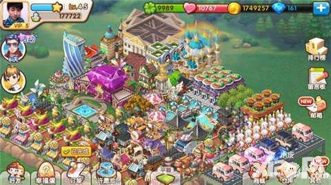 全民小镇天使城堡布局分享