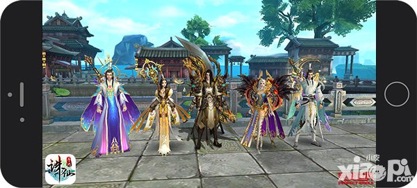 图片: 图3:《诛仙手游》跨服PK以5人为一战队.jpg
