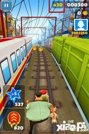 地铁跑酷高分技巧心得分享