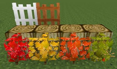 我的世界枫树mod装饰物详细介绍