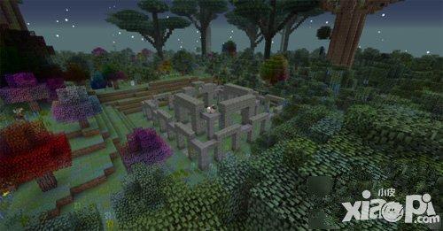 我的世界 魔法森林有什么特色