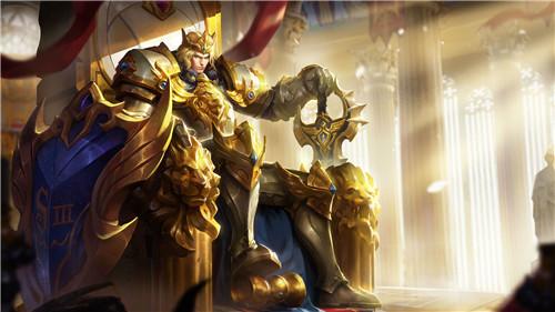 王者荣耀火焰里的亚瑟兄弟 大将军风采当前排冲