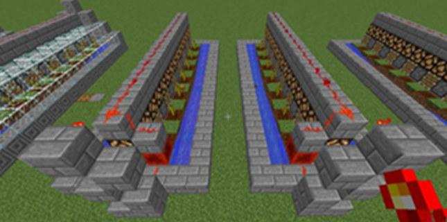 我的世界全自动西瓜农场 自动化红石教程