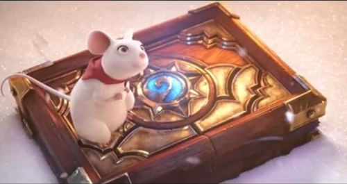 炉石传说官方宣传短片:炉石与家  一家被游戏耽误的电影公司