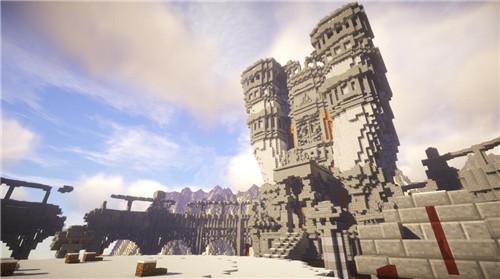 我的世界大神建筑欣赏 未羊宫