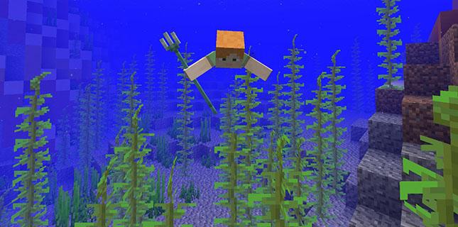 我的世界1.13快照18w08b发布 真实的鱼和水下视觉