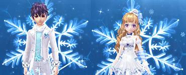 QQ飞车手游雪影千寻套装欣赏 雪影千寻套装一览