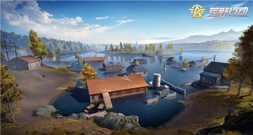荒野行动水城地图区域解析 水城玩法技巧