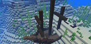 我的世界快照18w11a发布 沉船!水鬼!柳珊瑚!