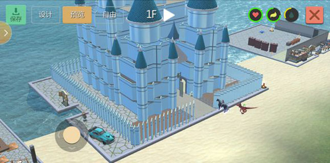 创造与魔法水晶宫建筑图纸分享 水晶宫怎么建造