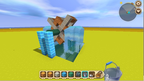 迷你世界水中风车怎么做 迷你世界水中风车制作教程