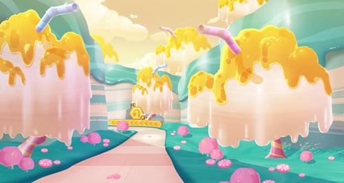 QQ飞车手游蜂之蜜语赛道介绍 蜂之蜜语赛道解析