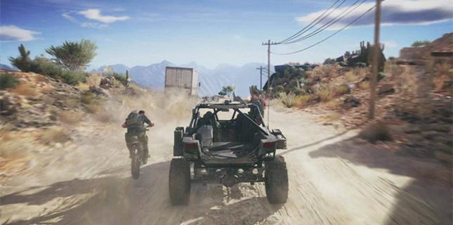 荒野行动飞车激斗全新玩法曝光 来与车共存亡吧