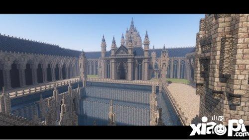 我的世界华丽的海上宫殿欣赏 不亚于水城威尼斯