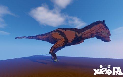 我的世界恐龙雕塑欣赏 这些恐龙你都了解多少?