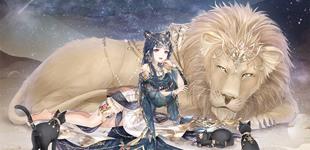 奇迹暖暖少女与狮 远方漂泊的思念