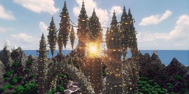 星落凡间 我的世界坠落的繁星之城