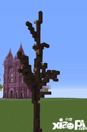 我的世界银杏树制作攻略 银杏树搭建步骤