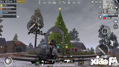 绝地求生刺激战场圣诞树在哪