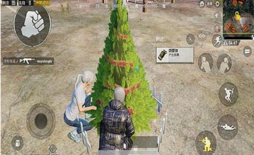 绝地求生刺激战场圣诞树作用详解