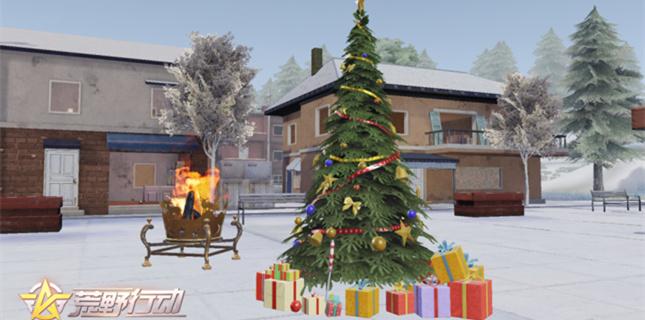 荒野行动全新玩法圣诞雪战即将开启 全新狙击枪登场