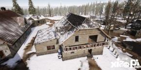 绝地求生刺激战场雪地房屋攀爬攻略