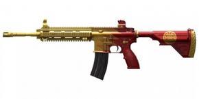绝地求生刺激战场新春爆料 M416全新皮肤空降战场