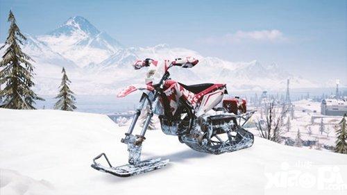 绝地求生刺激战场轻型雪地摩托刷新位置解析