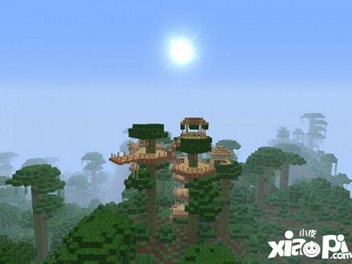 我的世界树的作品合集 一棵树就是一片森林
