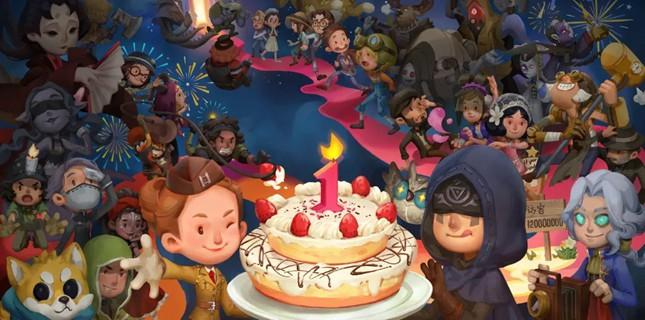 第五人格周年庆蛋糕狂欢活动即将开启 4月4日更新预告
