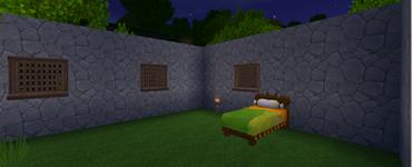 迷你世界简易房屋制作步骤