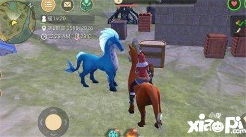 创造与魔法驯服蓝马攻略
