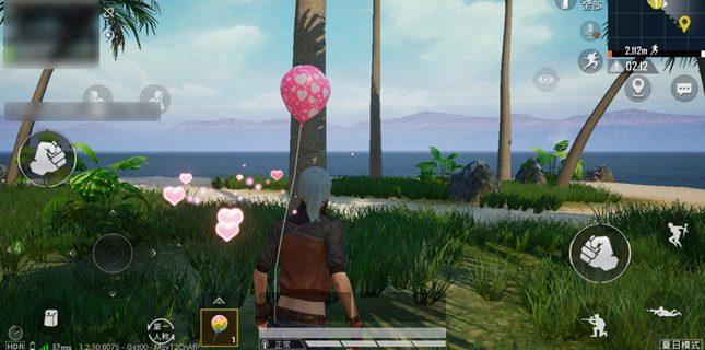 和平精英四色气球收集攻略