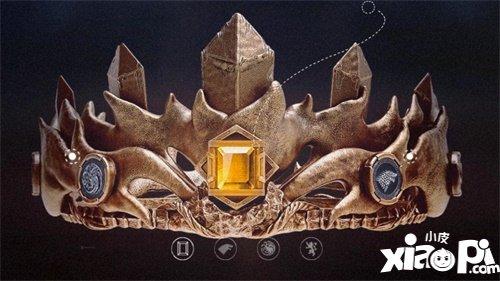 国礼大师匠心打造 权力的游戏凛冬将至新王之战王冠惊艳亮相