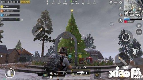 和平精英圣诞节模式怎么进