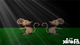 我的世界鼠年雕塑教程 老鼠雕塑怎么做