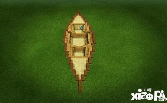 我的世界小船建造教程 小船怎么做